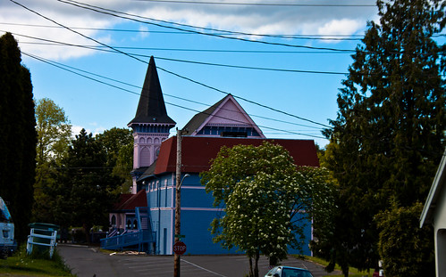 Blue & Pink House