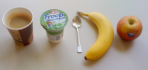Froop, Banane & Apfel