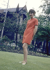 Fashion Shoot, 1967 (MMU Visual Resources) Tags: students fashion manchester design costume clothing dress models 1967 artschools garments womenswear arteducation manchesterschoolofart
