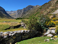 Huayhuash Trek-Peru (mikemellinger) Tags: mountains peru southamerica beauty field wall trekking trek landscape scenery hiking stones hike snowcapped andes huayhuash ancash