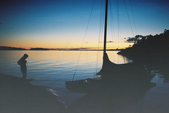 Maritana (kahnlund) Tags: sunset sea night dark boat stockholm archipelago skärgård skerrycruiser