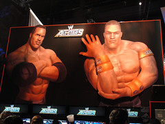 E3 2010 WWE Allstars - the Rock vs John Cena