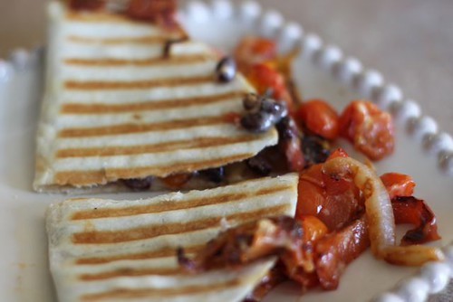 4776539868 e08385e87f Mission Menus Challenge: Black Bean & Peppers Quesadillas