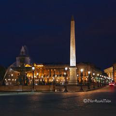 Plaza de la Concordia (Pilar Azaña Talán ) Tags: egipto luxor obelisco parís plazadelaconcordia mywinners abigfave 100commentgroup pilarazaña