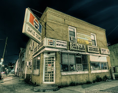 Del's II (Barry J. Schwartz) Tags: city urban philadelphia canon advertising store philly pepsi 16mm hdr steaks hdri 1635 photomatix 1635l ef1635mmf28liiusm highdynamicrange barryjschwartzcom 1dmkiv 1dmk4 canoneos1dmarkiv highdynamicrangeimage