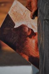 Enric Miralles, per Jorge Rodrguez Gerada (Troballola) Tags: street portrait streetart art enric soil jorge miralles rodrguez 2010 sorra retrat homenatge gerada