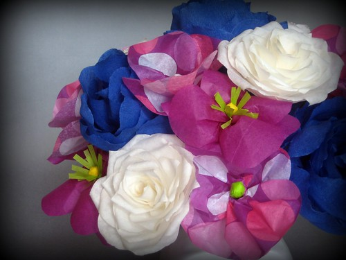 paper flowers 716