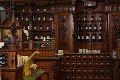 Apothecary 8 (noriko.stardust) Tags: wood old store antique pharmacy drug medicine apothecary drawers apoteke apothek