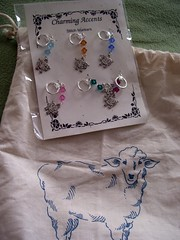 Bag and Stitch markers