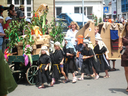 kindergarten parade, Holzgerlingen, Germany