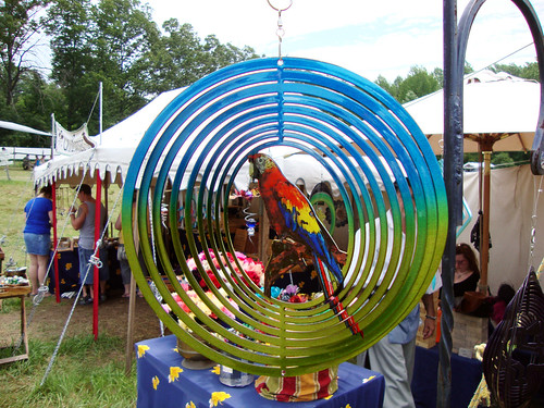 parrot wind spinner by greyloch