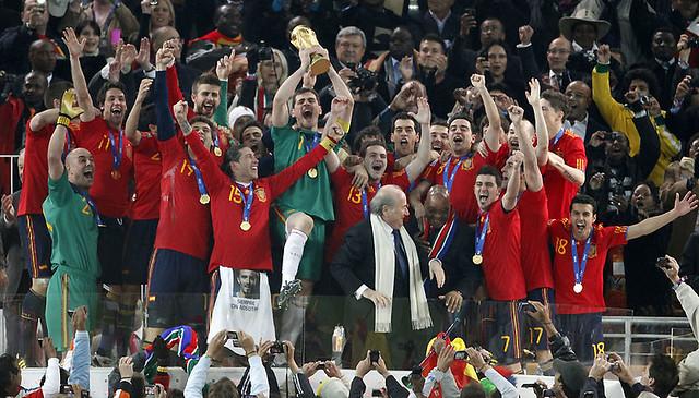 España gana el Mundial 2010