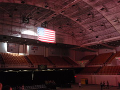 flag spotlight