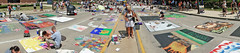 Three Rivers Festival Chalk Walk (rsteup) Tags: panorama art festival fort sony wayne indiana rivers chalkart fortwaynein threeriversfestival sonydschx1 fwfg hx1sonyartchalk artfestivalthree