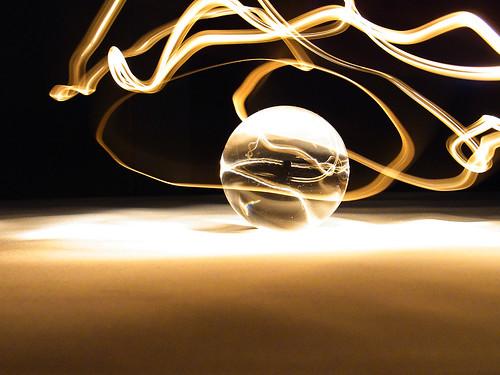 acrylic ball 05/light painting