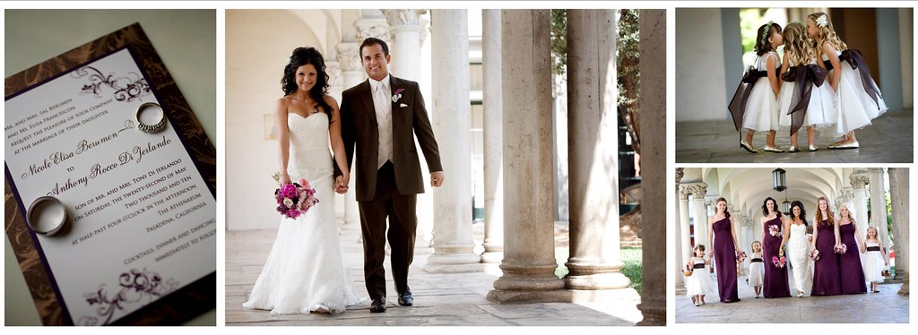Athenaeum Pasadena wedding 1