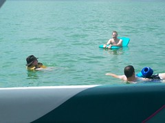 time to relax (AMC81) Tags: friends lake chicago beer swim relax fun boat play weekend michigan lounge annual goodtimes