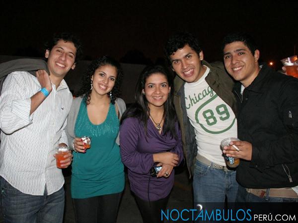 Almuerzo Univ. de Lima 10-07-10