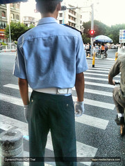 IMG_1189_fhdr (Policeguy) Tags: uniform traffic cop  policeman hotguy  youngguy  chinese  cop
