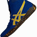 Asics-Aggressor Wrestling Shoes Royal Blue Gold 1