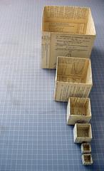 fibonacci_box_03 (Allison R Marx) Tags: sculpture book fibonacci boxes
