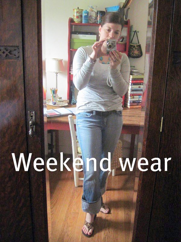 What I Wore- Weekend Wear
