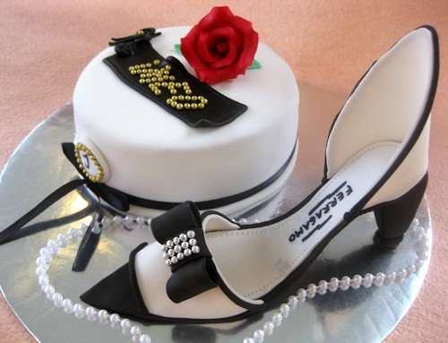 Haute Couture Shoes Cake