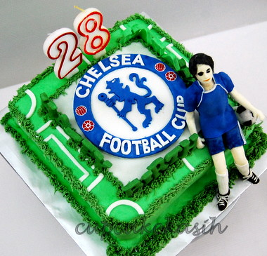 Chelsea Football Club Cake