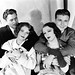 Warner Baxter, Ruby Keeler, Dick Powell and Bebe Daniels