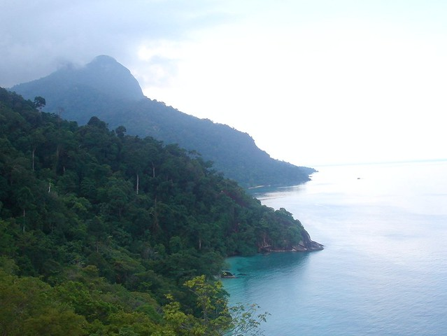 Enclaves along Tioman coast