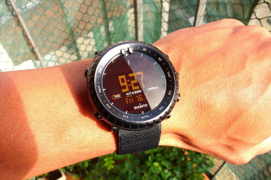 Suunto Core Black - Custom Velcro Strap