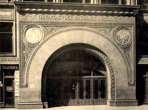 Chicago Stock Exchange Building-1894