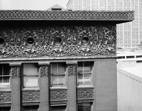 Cornice Detail-Wainwright Building, St. Louis, MO-1890-91
