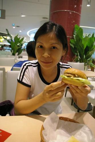 MOS burger Rebecca saw