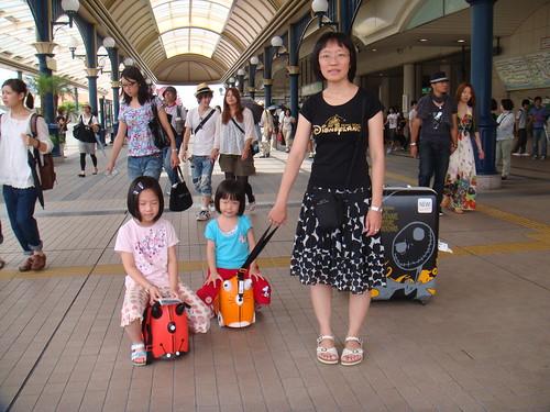 到達舞濱站(舞浜駅)囉!