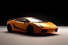 car yellow model coche lamborghini gallardo 118 maqueta diecast superleggera autoart