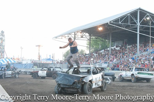 Double Figure 8 Race Lycoming County Fair-12