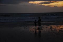 DSC_0008 (flypig) Tags: sea india beach clouds evening monsoon mumbai juhu 2010