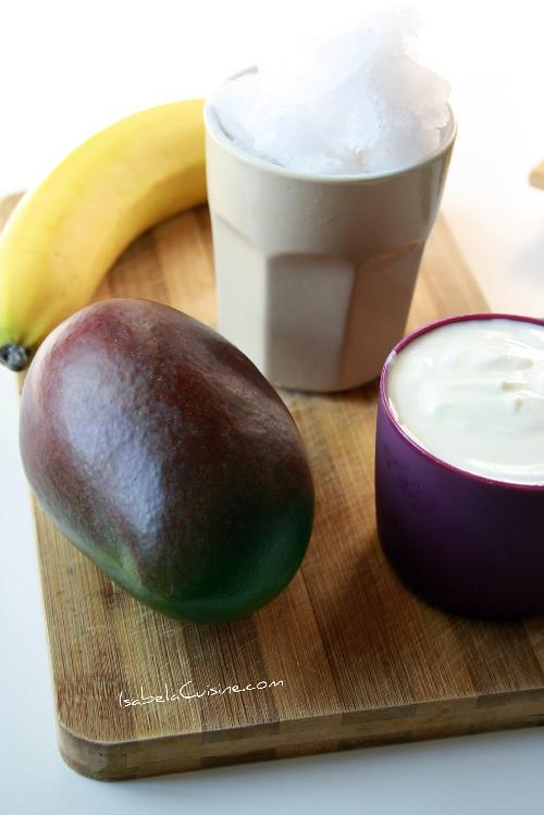 Mango Yogurt Smoothie