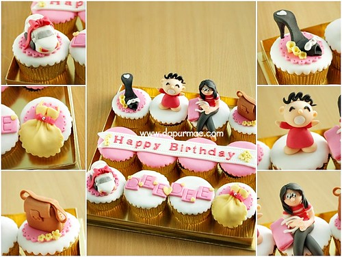 Minna no Tabo Cupcake Set