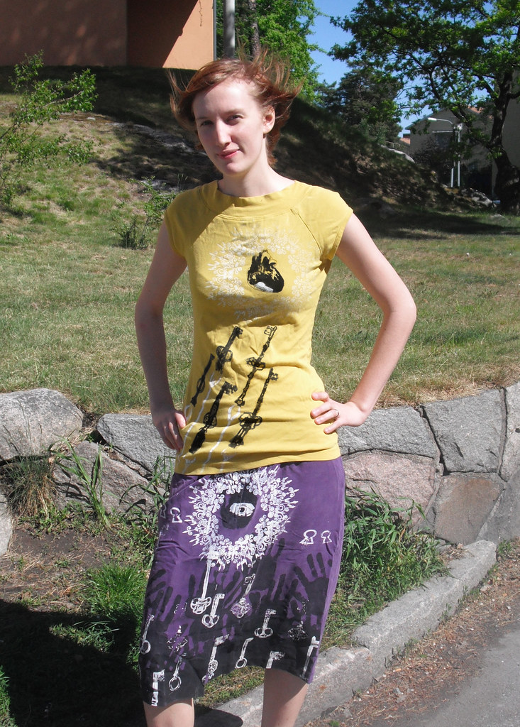 Original Silk-screen printed t-shirt