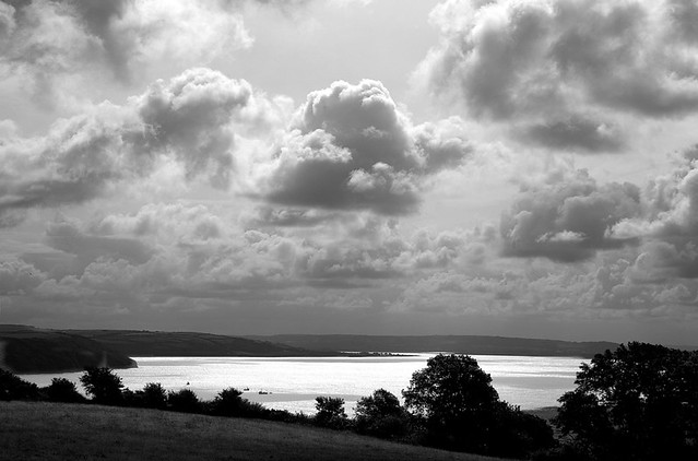 The estuary off Laugharne
