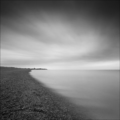 Towards Sizewell from Aldeburgh, Suffolk (dave in norfolk) Tags: longexposure sea beach coast pyramid shingle northsea aldeburgh daveturner nd110 artistictreasurechest oracope magicunicornverybest selectbestfavorites selectbestexcellence magicunicornmasterpiece sbfmasterpiece