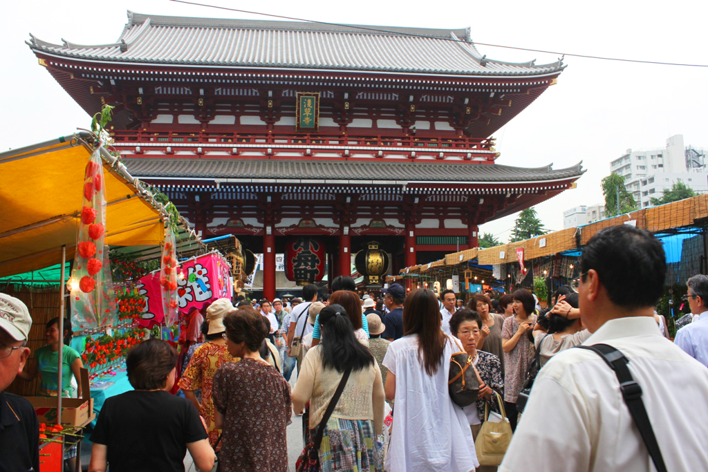 Asakusa Ground cherry Festival 2010(Houzuki ichi)