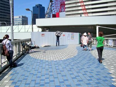 ARアヒル JR大阪駅前 ゲリラ撮影