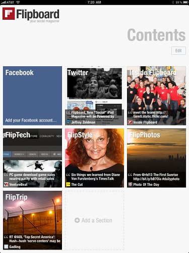 Flipboard with Zeldman