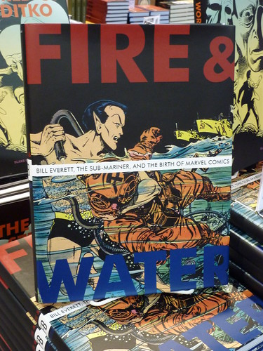 Comic-Con 2010 debut: Fire & Water: Bill Everett... by Blake Bell