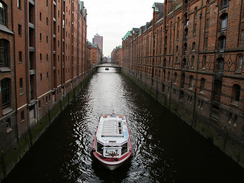 Old Canal - Hamburg, Germany