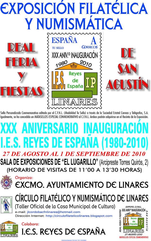 EXPOSICIÓN CONMEMORATIVA DEL IES REYES DE ESPAÑA