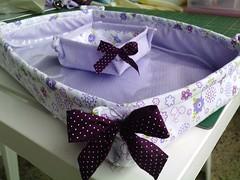 cestinhas (GR) Tags: kit madeira pintura mdf tecidos toalhas cestinha